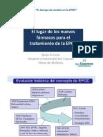 Poencia del Dr .Borja G. Cosio. Nuevos fármacos en EPOC Semergen Oviedo 2011