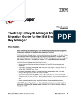 Tivoli Key Lifecycle Manager for Z-OS Migration Guide for the IBM Encryption Key Manager Redp4646