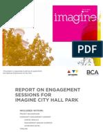 Imagine City Hall Park Report 2012
