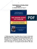 The Hidden Story of Cancer
