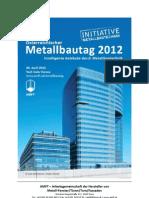 Metallbautag 2012 Handout