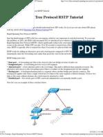 Rapid Spanning Tree Protocol RSTP Tutorial