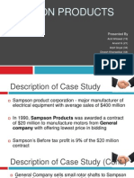 11 Case Study Sampson Products