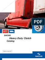 2010 SACHS Heavy Duty Clutch Catalog