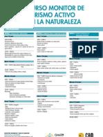 CEMACAM Torre Guil-Murcia. Curso Monitor de Turismo activo en la Naturaleza. Junio 2012. Obra Social. CAM