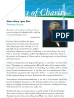 Sisters of Charity - Halifax Canadian Appeal 2012