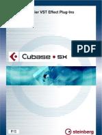 Cubase SX - Earlier PlugIns PDF