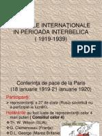 0 Relatiile Inter Nation Ale in Perioada Interbelica