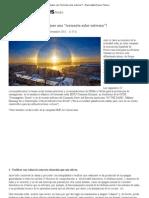 """¿Cómo actuar si se produjese una """"tormenta solar extrema""""_ - Diario digital Nueva Tribuna"""