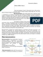 Microeconomics - Micro & Macro Economincs