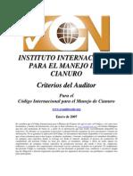 Auditor Criteria SP