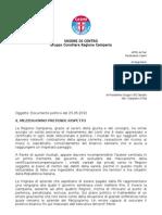 Documento Politico Udc_Il Mezzogiorno Pretende Rispetto