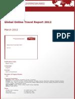 Brochure & Order Form_Global Online Travel Report 2012_by yStats.com