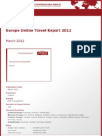 Brochure & Order Form_Europe Online Travel Report 2012_by yStats.com