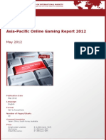 Brochure & Order Form_Asia-Pacific Online Gaming Report 2012_by yStats