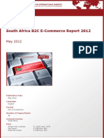 Brochure & Order Form_South Africa B2C E-Commerce Report 2012_by yStats