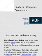 kingfisher airlines-Corporate Governance