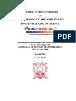 Recruitment of Advisors in Icici