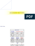 Testing & Setting Address VRF