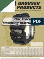 SkidSteer Track Installation Instructions
