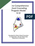 Maine Comprehensive School Counseling Program Model K-12