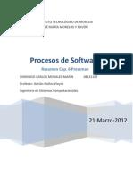 Resumen Procesos de Software