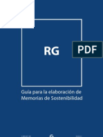 Spanish G3.1 Reporting Guidlines