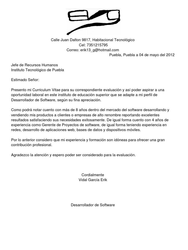 Famoso Curriculum Vitae Para El Desarrollador Patrón - Ejemplo De ...