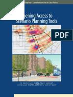 Opening Access to Scenario Planning Tools