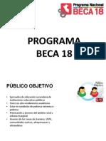 presentacion Beca 18