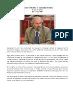 Religious Extremism of Alexander Dvorkin