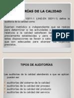 AUDITORÍAS DE LA CALIDAD