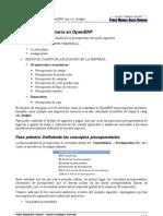 Gestión presupuestaria en OpenERP con c2c_budget