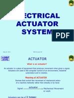 1 Elect Actuatlor