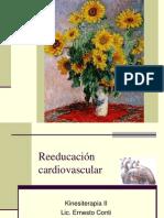 Reeducación cardiovascular