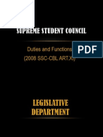 Duties and Functions