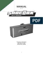 ShoeBox Compressor Manual