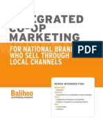 Integrated Co-op Marketing for National Brands - White Paper