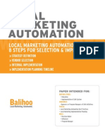 Local Marketing Automation