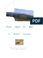 Five Days in May - A Bolnisi Portfolio