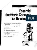 Oneworld_Concepts for Developers