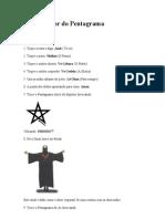 Ritual Maior Do Pentagram A
