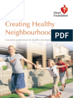 Creating Healthy Neighbour Hoods