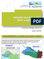 Perspectivas Climatic As Mayo Agosto 2012