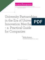 IMFA2011 003 University Partnerships