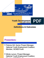 Patricia Gill-Youth Development & Youth Leadership