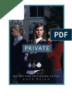 Private - Kate Brian