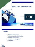 Auti-Unpack Tricks in Malicious Code