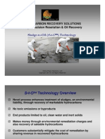 HRS Sludge to Oil Technology
