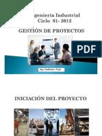 Gestión de Proyectos Clase 4 Inicio y Acta de Proyecto